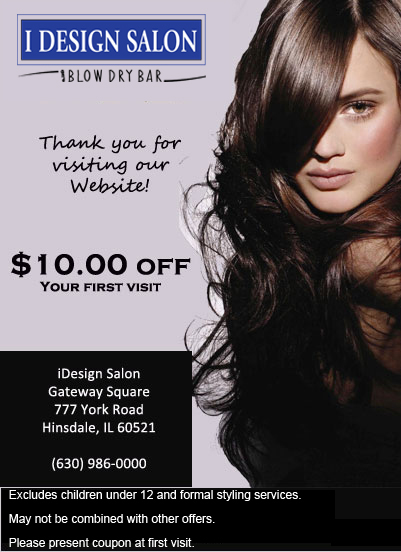 Hinsdle Salon and blowdry bar - coupon
